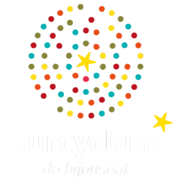 surcyclum logo couleur et blanc